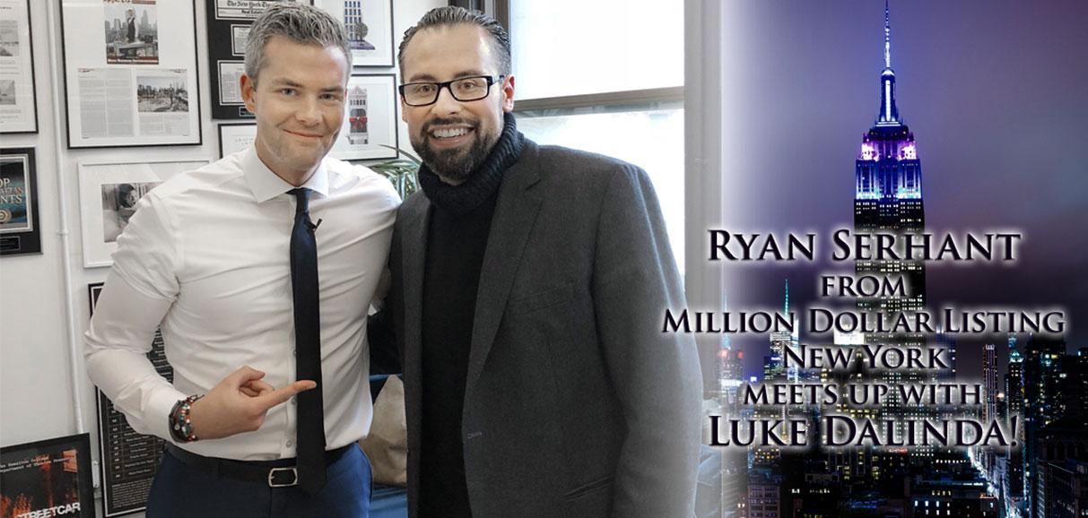Ryan Serhant meets up with Luke Dalinda