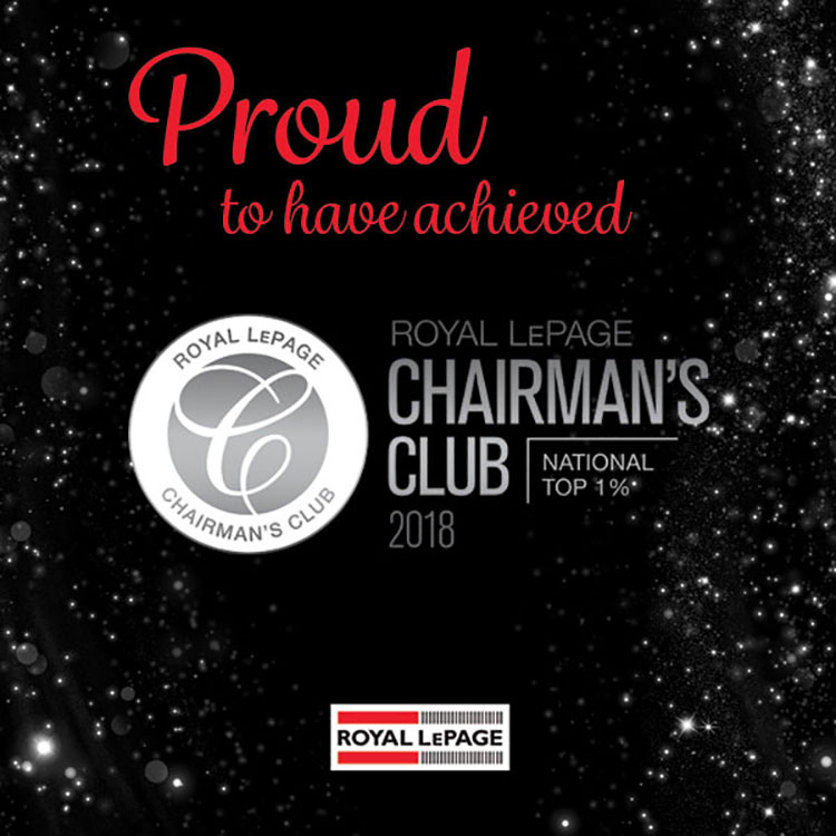 Royal Lepage Chairmans Club